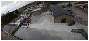 Athea Wind Farm Substation