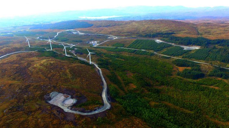 Meenadreen Wind Farm Operations Building